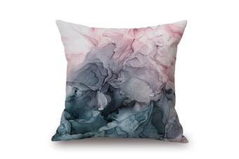EHOMMATE 45*45cm Ink Smoke on Cotton&linen Pillow Cover 85360