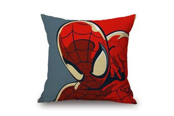 EHOMMATE 45*45cm The Spider Man on 100% linen Pillow Cover 87067