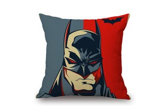 EHOMMATE 45*45cm The Bat Man on 100% linen Pillow Cover 87068