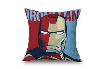 EHOMMATE 45*45cm The Iron Man on 100% linen Pillow Cover 87069