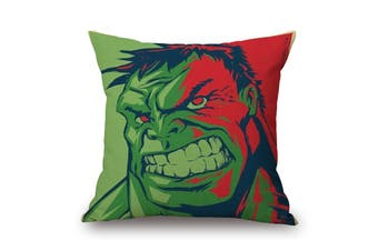 EHOMMATE 45*45cm The Hulk on 100% linen Pillow Cover 87070