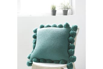 EHOMMATE Nordico Handmade Cozy Cushion Cover - Green