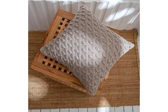 EHOMMATE 45*45cm Nordico Handmade Soft Cozy Knit Cushion Cover