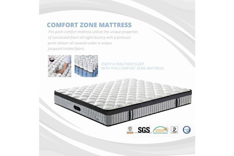 Comfort Zone EUROTOP 30cm Mattress King