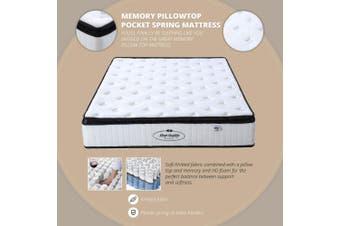 Memory Pillow Top Pocket Spring Mattress Queen