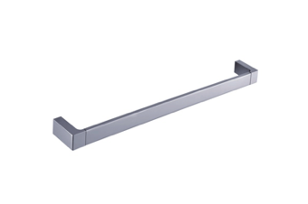 INDIGO HAUS APSLEY 600MM SINGLE TOWEL RAIL CHROME BATHROOM ACCESSORY
