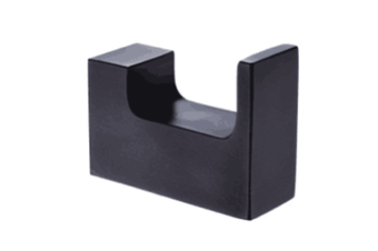 INDIGO HAUS APSLEY SQUARE ROBE HOOK MATTE BLACK BATHROOM ACCESSORY