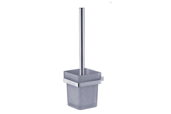 APSLEY SQUARE WALL MOUNTED TOILET BRUSH CHROME BATHROOM ACCESSORY