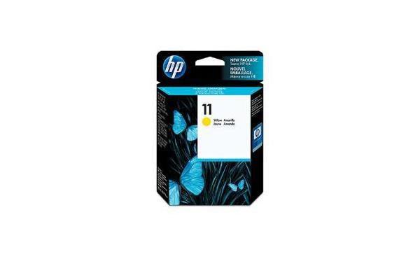 HP 11 YELLOW INK CARTRIDGE C4838A