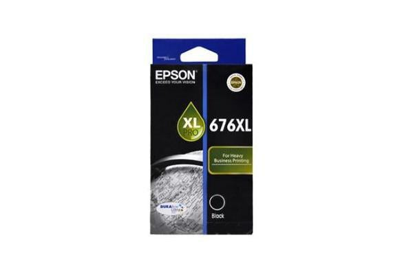 EPSON DURABrite Ultra 676XL Ink Cartridge - Black - Inkjet - 2400 Page