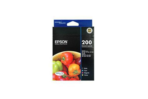 EPSON Std Capacity DURABrite Ultra 4 ink Value Pack
