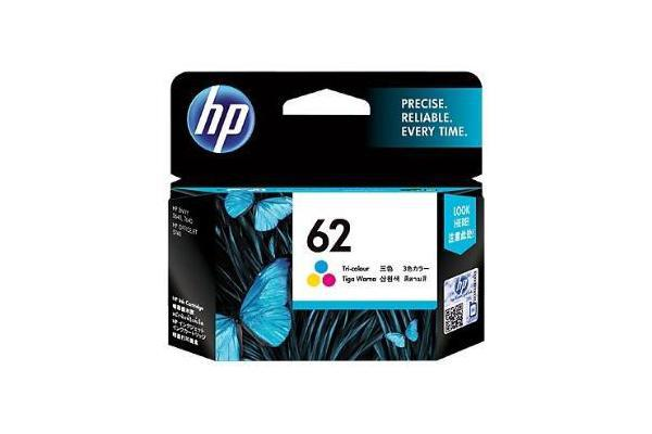 HP 62 TRI-COLOR INK CARTRIDGE C2P06AA