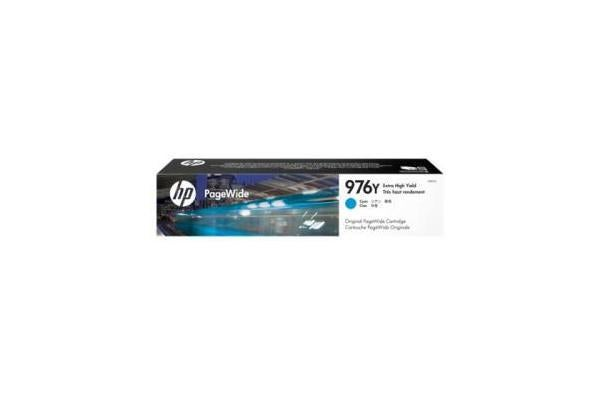 HP 976Y CYAN ORIGINAL INK CRTG 552/577 SERIES