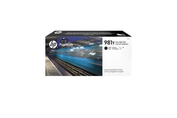HP 981Y BLACK ORIGINAL PAGEWIDE CRTG
