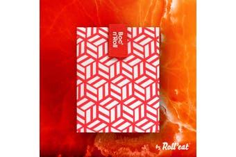 Boc'N'Roll Tile Sandwich Wrap - Red