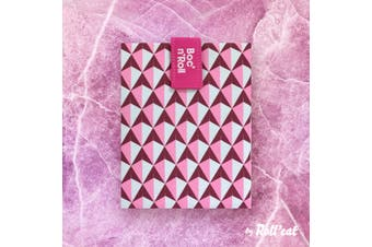 Boc'N'Roll Tile Sandwich Wrap - Pink