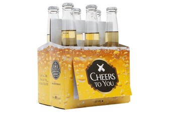'Cheers To You' Beer Caddy & Gift Card |by IOco| - Beer Bubbles
