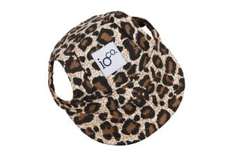 IOco Doggie Baseball Caps - Leopard MEDIUM