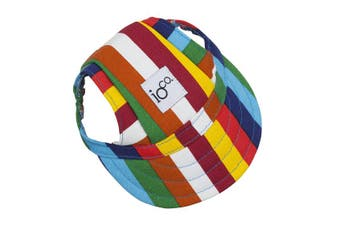 IOco Doggie Baseball Caps - Stripe MEDIUM