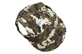 IOco Doggie Baseball Caps - Camo XLARGE