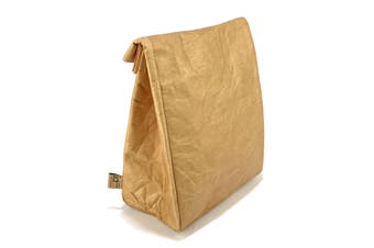 IOco  'Old School' Insulated Lunch Bag - Brown Paper Bag