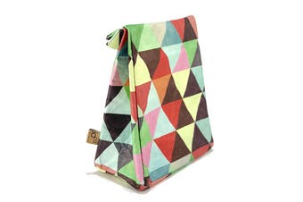 IOco 'Old School' Insulated Lunch Bag - Triangles