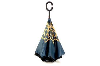 IOco Reverse Umbrella - Moroccan Tile