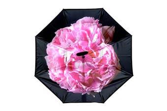 IOco Reverse Umbrella - Peonies