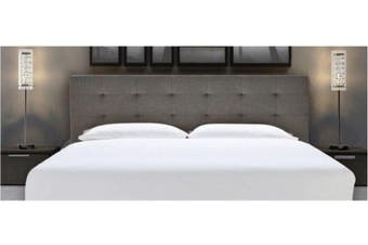 Istyle Alexis King Bed Head Fabric Grey