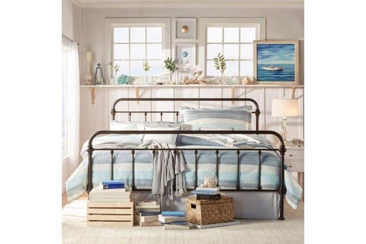 Istyle Monaco Queen Bed Frame Metal, Monaco Queen Bed Frame