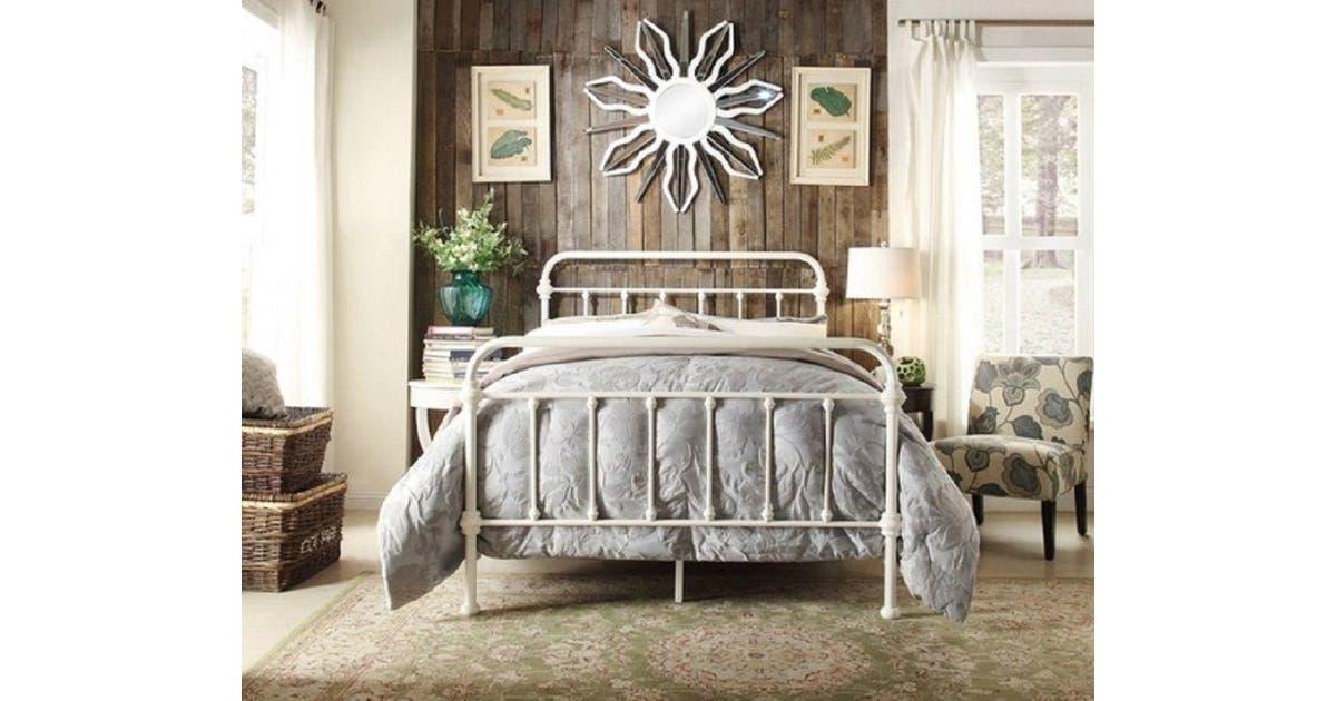 Istyle Monaco Queen Bed Frame Metal, Istyle Monaco Queen Bed
