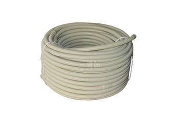 16mm 50m coil Double layered PVC Flexible drain hose Beige