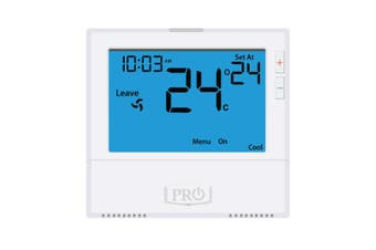 T805 Pro1 Thermostat 5+1+1 Progammable, 1H/2C with 8sq. Inch display