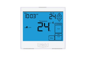 T955 Pro1 Thermostat 5+1+1 Progammable, 1H/2C with 13sq. Inch display
