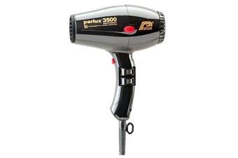 Parlux 3500 BLACK Hair Dryer CERAMIC & IONIC Super Compact  Hairdryer
