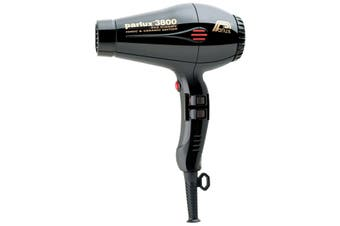 Parlux 3800 Ionic and Ceramic Black Hair Dryer Super Compact