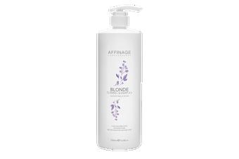 Affinage Professional Blonde toning Shampoo 1 x 1lt Sulfate Free & Vegan