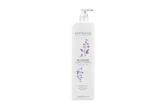 Affinage Professional Blonde toning Shampoo 1 x 375ml Sulfate Free & Vegan