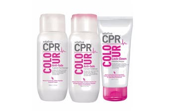Vitafive CPR Colour Shampoo Conditioner 300ml and Treatment 180ml Trio