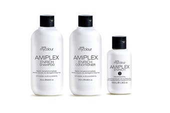 RPR Amiplex Enrich Shampoo Conditioner and Stage 3 Treatment Kit