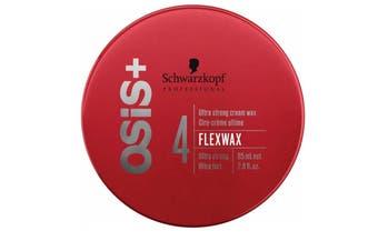 Schwarzkopf Osis + 4 Flex Wax ultra strong cream wax hair wax 50 ml