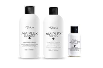 Amiplex Kit Connect Fortify Stage 1 and  2  500 ml each,  Stage 3 100 ml