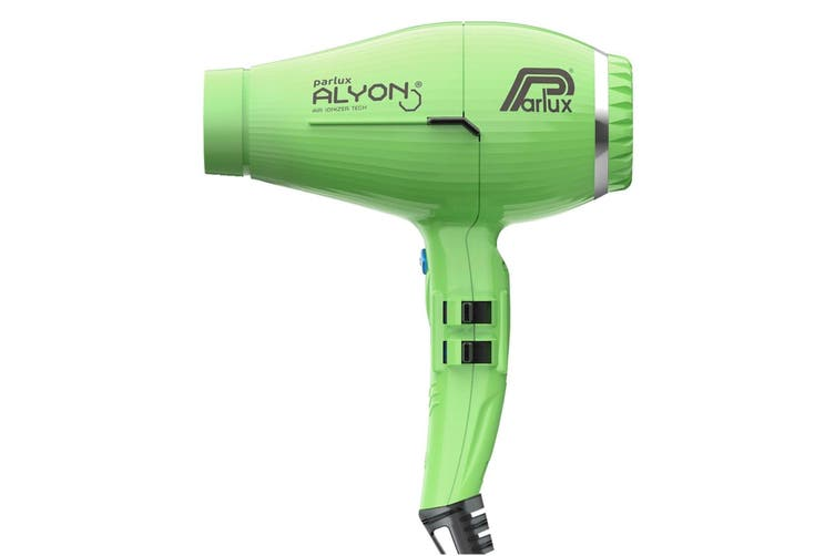 Parlux Alyon Air Ionizer Tech Hair Dryer Green