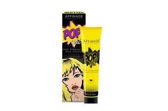 Affinage Pop Art Semi Permanent Direct Dye Colour Ammonia Free Yellow 100 ml