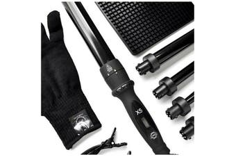 H2D latest Model Professional Haircare H2D X5 Curling Wand