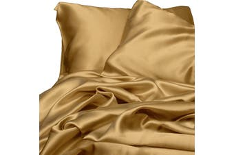 Satin Sheet Set - Veuve Gold