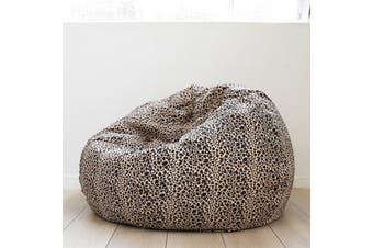 Pierre Fur Bean Bag - Leopard