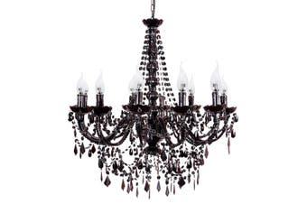 Cassie Chandelier 12 Light - Black