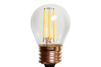 LED E27 Bulb Light Globes - 4w Warm White -- Pack of 12