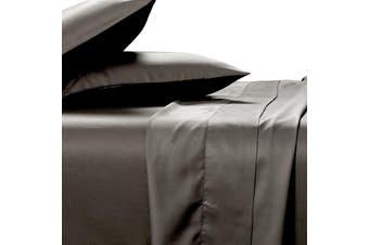 Silky Soft 100% Bamboo Sheet Set - Charcoal - King
